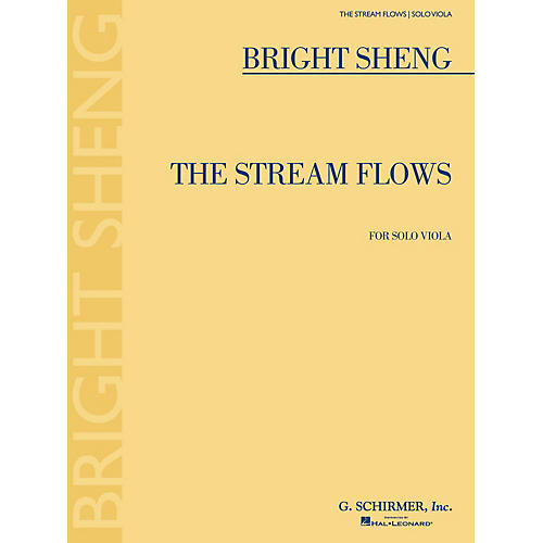 G. Schirmer The Stream Flows (for Solo Viola) String Solo Series Softcover