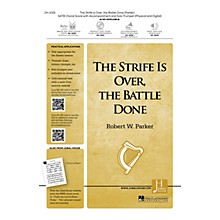 Jubal House Publications The Strife Is Over, the Battle Done BRASS/PERCUSSION PARTS Composed by Robert W. Parker