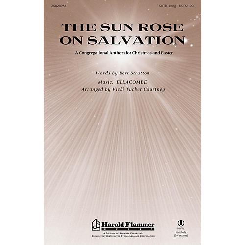 Shawnee Press The Sun Rose on Salvation SATB arranged by Vicki Tucker Courtney