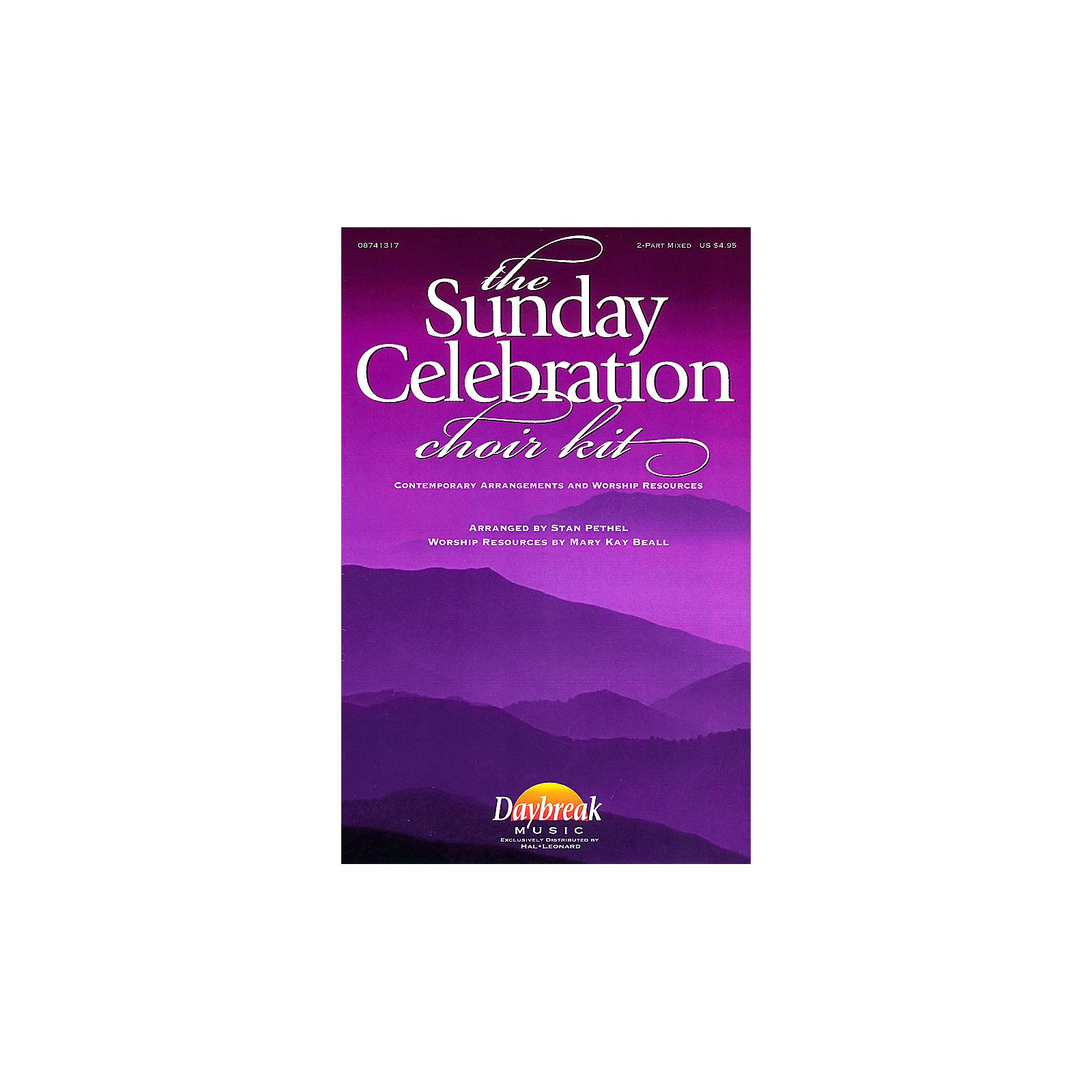 Daybreak Music The Sunday Celebration Choir Kit (2-Part Mixed) 2 Part Mixed arranged by Stan Pethel