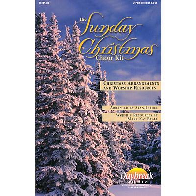 Daybreak Music The Sunday Christmas Choir Kit 2 Part Mixed arranged by Stan Pethel