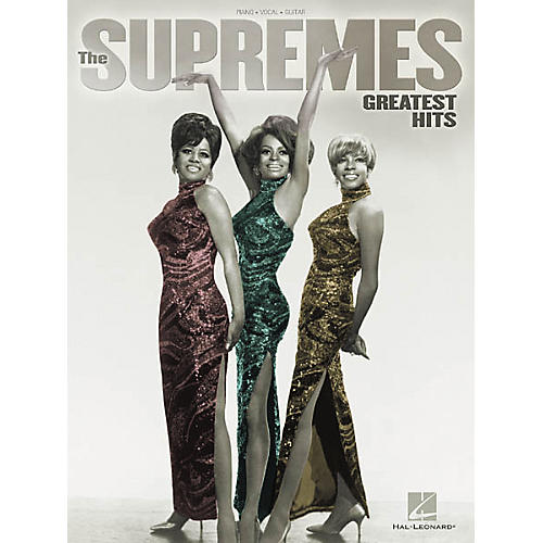 Hal Leonard The Supremes Greatest Hits Songbook