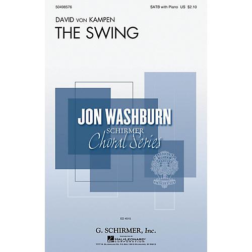 G. Schirmer The Swing (Jon Washburn Choral Series) SATB composed by David von Kampen