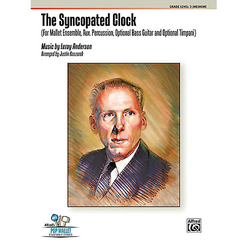Alfred The Syncopated Clock Percussion Ensemble Score & Parts