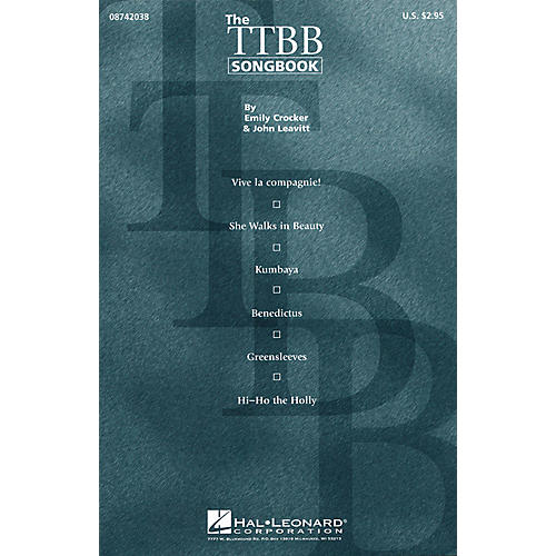 Hal Leonard The TTBB Songbook (Collection) TTBB A Cappella arranged by John Leavitt