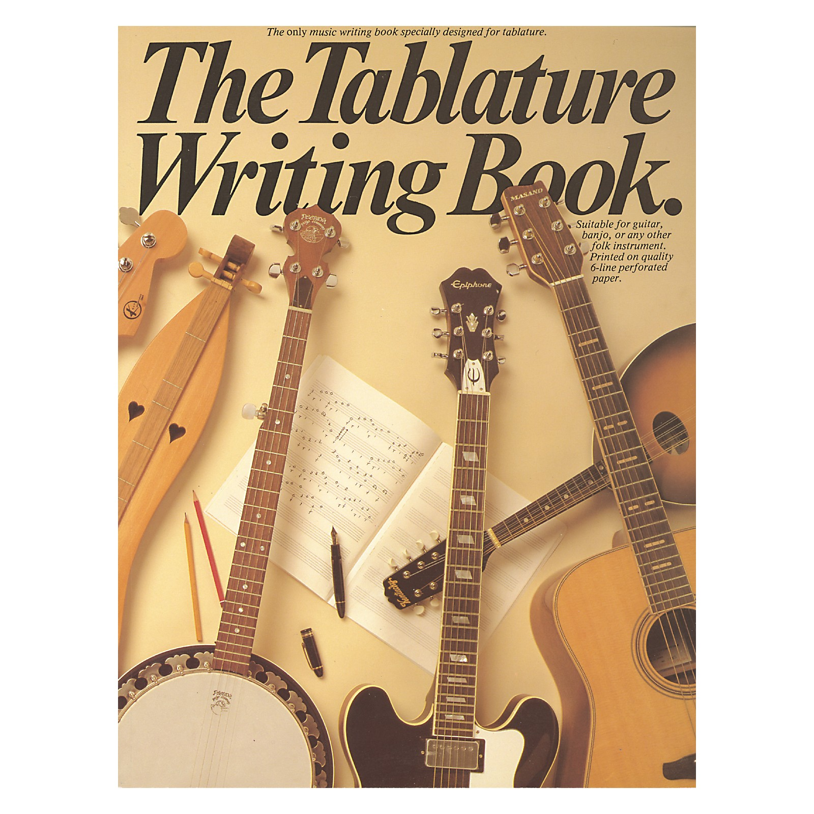 Music Sales The Tablature Writing Book