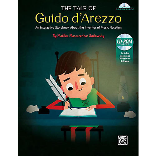 Alfred The Tale of Guido d'Arezzo Interactive CD for Whiteboard