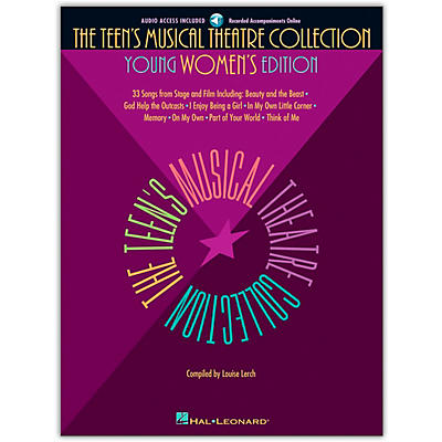 Hal Leonard The Teen's Musical Theatre Collection (Book/Online Audio)
