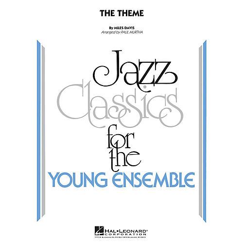 Hal Leonard The Theme Jazz Band Level 3 by Miles Davis Arranged by Paul Murtha