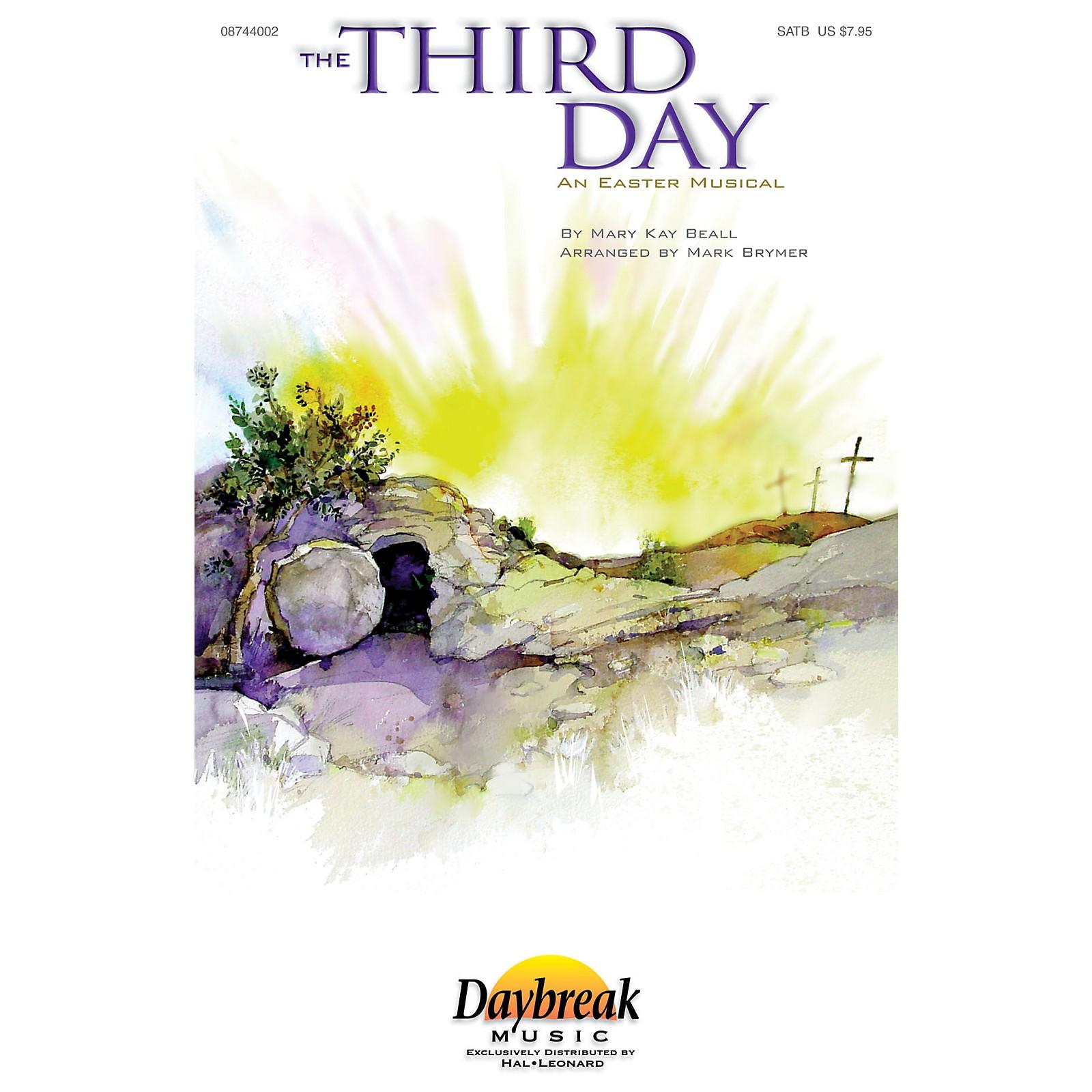 Daybreak Music The Third Day SATB arranged by Mark Brymer