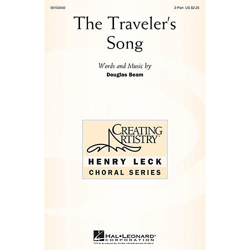 Hal Leonard The Traveler's Song 2PT TREBLE composed by Douglas Beam