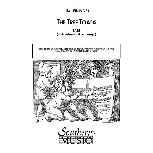 Hal Leonard The Tree Toads (Choral Music/Octavo Secular Satb) SATB Composed by Leininger, Jim