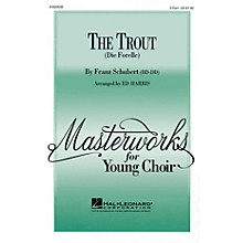 Hal Leonard The Trout (Die Forelle) UNIS/2PT arranged by Ed Harris