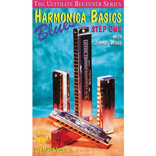 Alfred The Ultimate Beginner Series - Blues Harmonica Basics Step One (Video)
