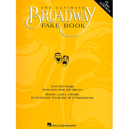 Hal Leonard The Ultimate Broadway Fake Book