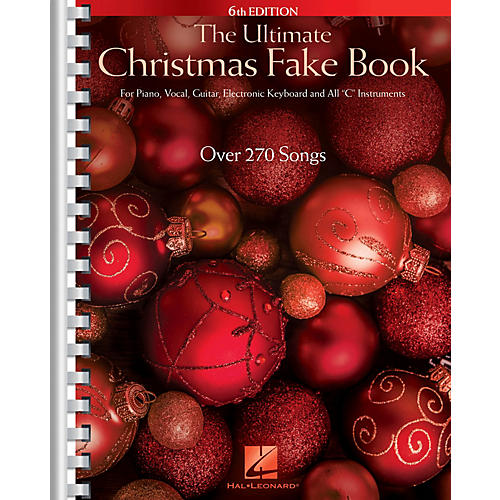 Hal Leonard The Ultimate Christmas Fake Book - 6th Edition Fake Book Series Softcover