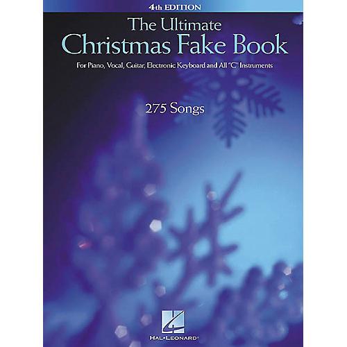 Hal Leonard The Ultimate Christmas Fake Book 4th Edition