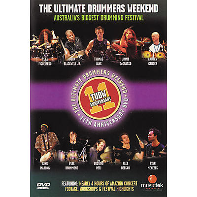 Hudson Music The Ultimate Drummers Weekend #11 (DVD)