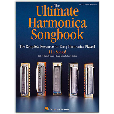 Hal Leonard The Ultimate Harmonica Songbook Harmonica - The Complete Resource for Every Harmonica Player!