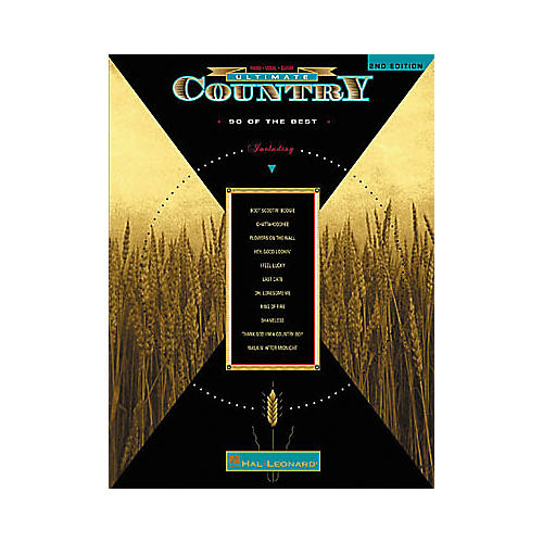 Hal Leonard The Ultimate Series Country 2nd Edition Songbook