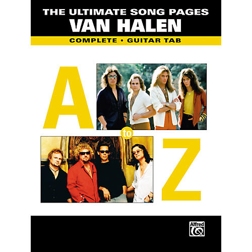 Alfred The Ultimate Song Pages: Van Halen Book