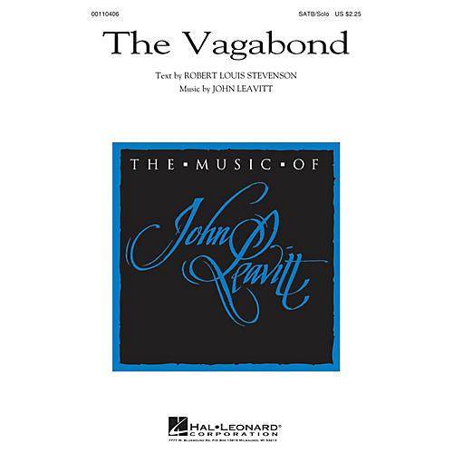 Hal Leonard The Vagabond SATB Chorus and Solo composed by John Leavitt