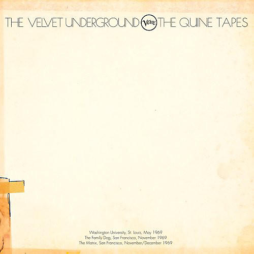 Alliance The Velvet Underground - Quine Tapes