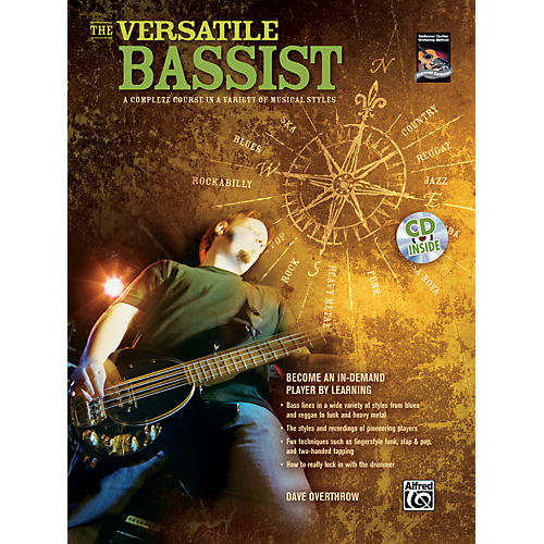 Alfred The Versatile Bassist Book & CD