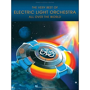 hal leonard the very best of electric light orchestra all over the world arranged for piano. Black Bedroom Furniture Sets. Home Design Ideas