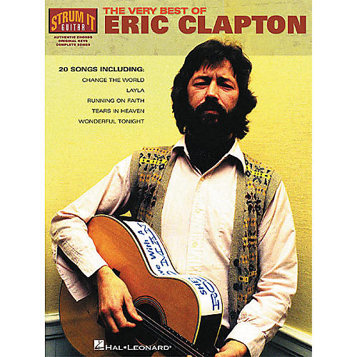 Hal Leonard The Very Best of Eric Clapton Book