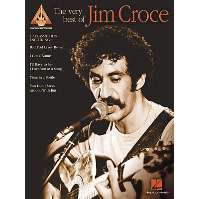 Hal Leonard The Very Best of Jim Croce