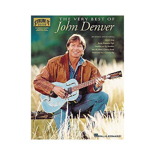Hal Leonard The Very Best of John Denver Guitar Tab Book