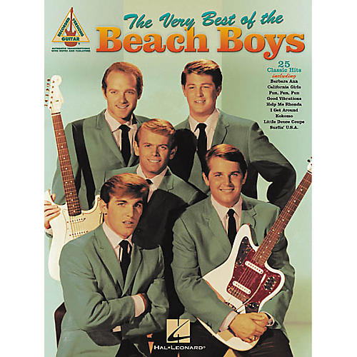 Hal Leonard The Very Best of the Beach Boys Guitar Tab Songbook