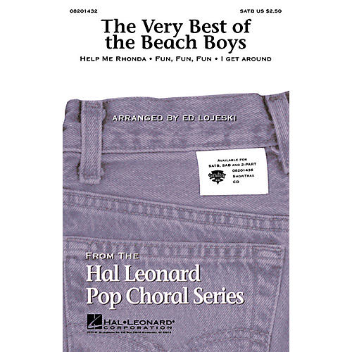 Hal Leonard The Very Best of the Beach Boys (Medley) ShowTrax CD by The Beach Boys Arranged by Ed Lojeski