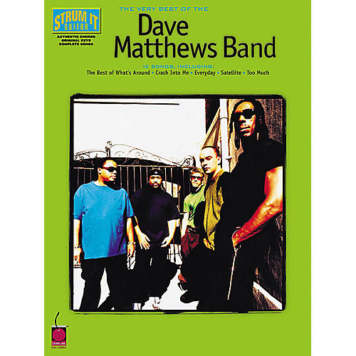 Hal Leonard The Very Best of the Dave Matthews Band Guitar Tab Songbook