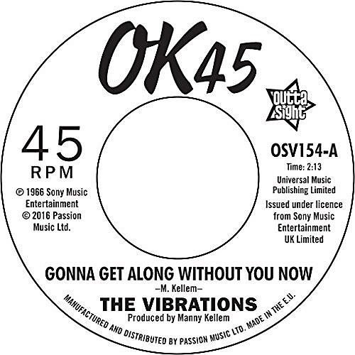 Alliance The Vibrations - Gonna Get Along Without You Now / Cause You're