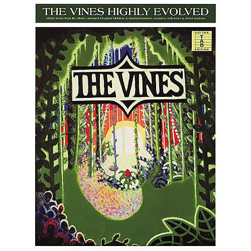 Hal Leonard The Vines Highly Evolved Guitar Tab Book