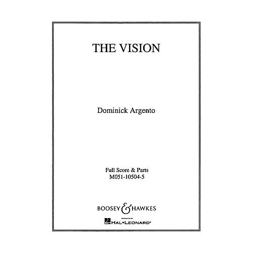 Boosey and Hawkes The Vision (Set of Parts) String Parts composed by Dominick Argento