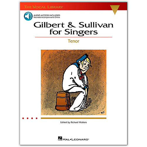 Hal Leonard The Vocal Library Series: Gilbert & Sullivan for Singers for Tenor Voice (Book/Online Audio)