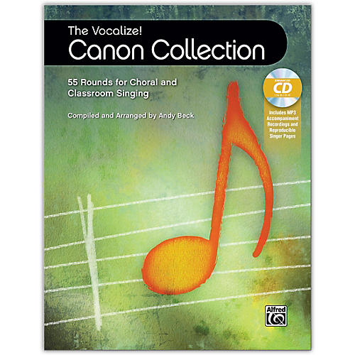 Alfred The Vocalize! Canon Collection Book & Enhanced CD