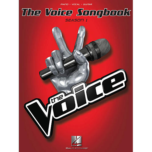 Hal Leonard The Voice Songbook - Season 1 P/V/G Songbook