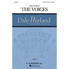 G. Schirmer The Voices (Dale Warland Choral Series) SATB with Cello composed by Dale Warland