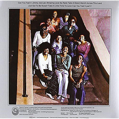 Alliance The Voices of East Harlem - Can You Feel It