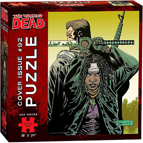 USAOPOLY The Walking Dead Cover Art Issue 92 Puzzle