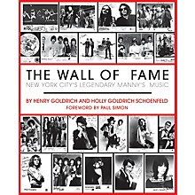 Hal Leonard The Wall of Fame (New York City's Legendary Manny's Music) Book Series Softcover by Henry Goldrich