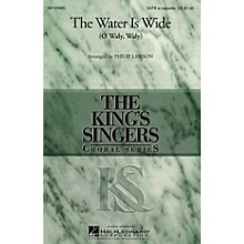 Hal Leonard The Water Is Wide SATB DV A Cappella arranged by Philip Lawson