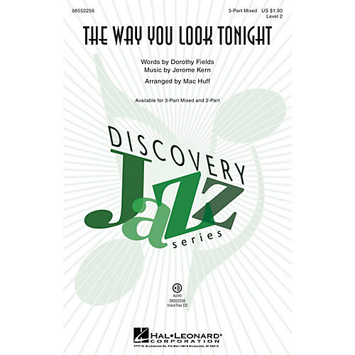 Hal Leonard The Way You Look Tonight (Discovery Level 2) VoiceTrax CD Arranged by Mac Huff