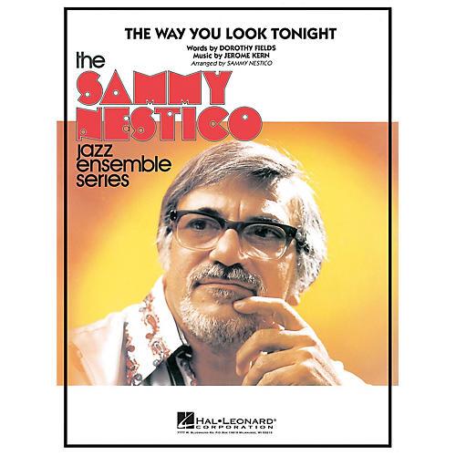 Hal Leonard The Way You Look Tonight Jazz Band Level 4 Arranged by Sammy Nestico