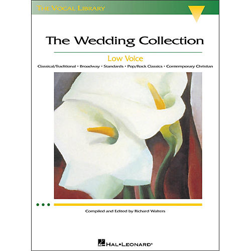 Hal Leonard The Wedding Collection for Low Voice (The Vocal Library Series)