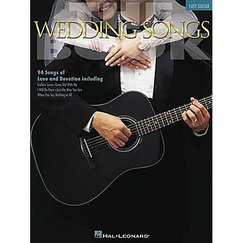 Hal Leonard The Wedding Songs Easy Guitar Tab Songbook